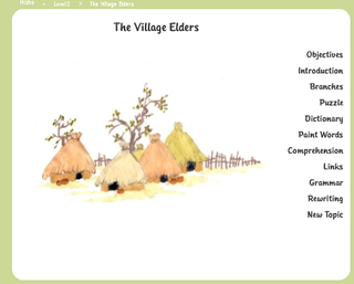 The Village Elders front page